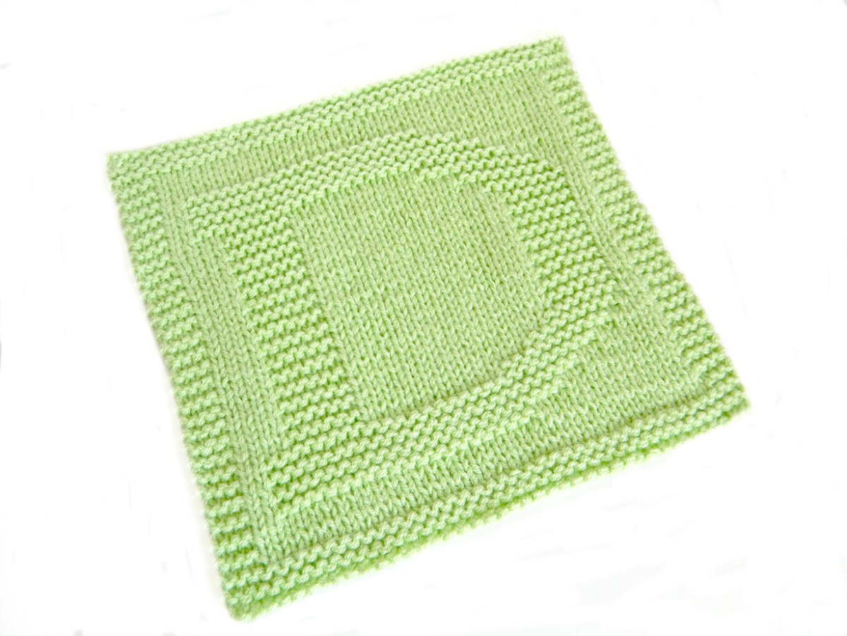 ALPHABET DISHCLOTH: D - OhLaLana!